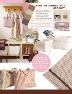 Clutter Control with Crochet!