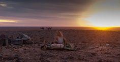 Tracks desert