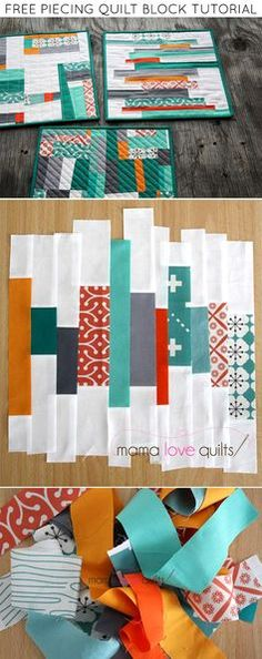 Need an easy way to use up those fabric scraps? Making a quilt using free-pieced strips is a great way to bust through your scrap bins. Quilter and blogger Nicole Neblett of Mama Loves Quilts shows us how!