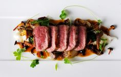 Lamb loin, Parmesan risotto and pan juices by Chris Horridge