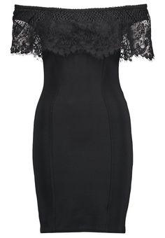 Czarna sukienka od Lipsy London <3