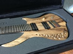 An OD Guitar ready to ship  Asteria 7 strings Multiscale 27-25.5 inch
