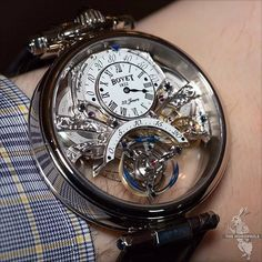 #Bovet Amadeo Fleurier Braveheart #Tourbillon . by gents_collection
