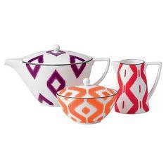 Wedgwood ikat tea set | Ikat Homeware | Red Online