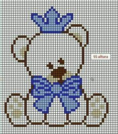 This Pin was discovered by May Crochet Baby Blanket Free Pattern, Crochet Patterns, Cross Stitch Embroidery, Hand Embroidery, C2c, Cushion Covers, Plastic Canvas, Smurfs, Filet Crochet
