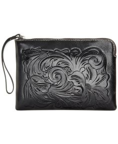 Patricia Nash Cassini Tooled Wristlet - Patricia Nash - Handbags & Accessories - Macy's