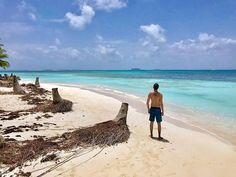 Another wonderful beach of San Blas Region Panama . You can find this one on Chichime Island the colors of the water and the beach are incredible! Cheap Beach Vacations, The Beach, Crystal Clear Water, Turquoise Water, Beach Trip, Panama, Travelling, Travel Photography, Wanderlust
