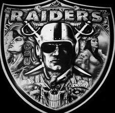 Oakland Raiders Wallpapers, Oakland Raiders Images, Oakland Raiders Football, Okland Raiders, Raiders Stuff, Raiders Girl, Prison Drawings, Raiders Tattoos, Raiders Cheerleaders