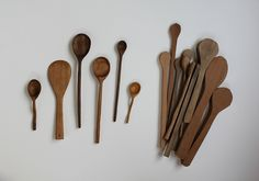 Step by step how to carve wooden spoons