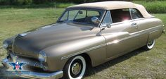 Like its Ford counterparts, the Mercury cars from 1949 had been redesigned both inside and out, and offered exciting, dynamic new styling to capture the public's imagination.