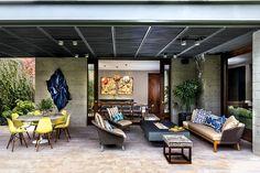 Diseño jovial y fresco que proclama la renovación de la casa y el nuevo estilo mexicano contemporáneo.