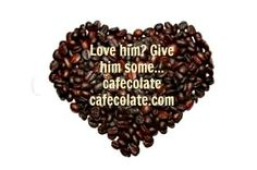 Coffee? No, it's naturaly organic wild grown beans with cacao (chocolate) added - yes it is www.cafecolate.com