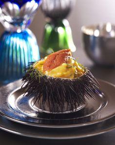 Recette Œufs brouillés aux oursins - Cuisine / Madame Figaro