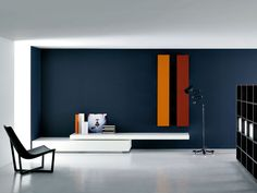 the modular modern wall unitpiero lessoni | modular storage