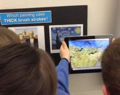 Learn how augmented reality can be used in the art curriculum.