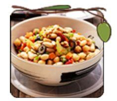 Mediterranean Summer Bean Salad