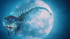 Kubo and the Two Strings - Movie Trailers - iTunes Mythological Creatures, Fantasy Creatures, Stop Motion Movies, Laika Studios, Kubo And The Two Strings, Japanese Folklore, D D Characters, Creature Concept, Chinese Dragon