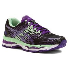 ASICS® GEL-Nimbus® 17 | Women's - Onyx/Purple/Mint