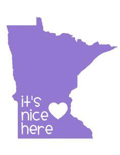 Minnesota Nice print