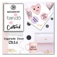 """Upgrade Your Chic With Refinery29"" by deeyanago ❤ liked on Polyvore featuring interior, interiors, interior design, home, home decor, interior decorating, ban.do, Refinery29 and upgradeyourchic"