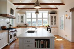 Light Farm-Kitchen - contemporary - kitchen - philadelphia - Sullivan Building & Design Group