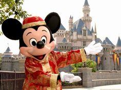 Hong Kong Disneyland Mickey!