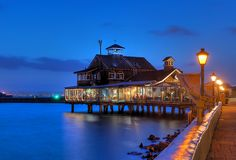 Seaport Village, San Diego, CA . . .just got back from here. . .this is a great restaurant, by the way. . .