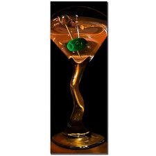'Goldtini' by Roderick Stevens Photographic Print on Canvas
