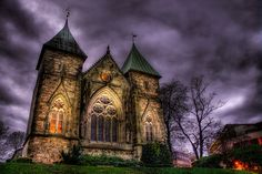 Stavanger Cathedral (Stavanger domkirke) is Norway's oldest cathedral.