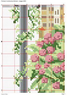 Firenze in cornice 8 Dream Catcher Boho, Cross Stitch Designs, Getting Things Done, Blackwork, Cornice, Detail, Books, Paisajes, Livros