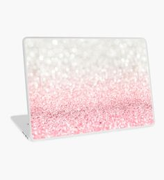 Pink Ombre Glitter by heartlocked Laptop Case Macbook, Macbook Skin, Laptop Skin, Laptop Cases, Computer Cover, Surface Laptop, Apple Laptop, Buy Roses, Iphone 8 Plus