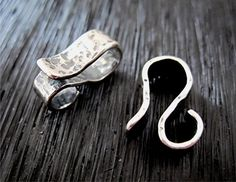 Sterling Silver Hammered Artisan Jewelry by VDIJewelryFindings, $7.20