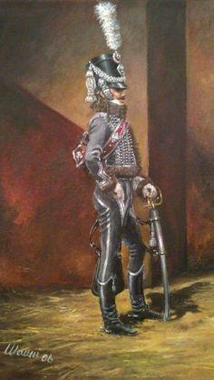 Ussaro del 2 rgt. ussari francese - Stefano Manni