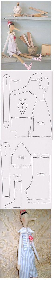 http://www.tilda-mania.ru/forum/12-3087-1 Tilda pinnochio pattern