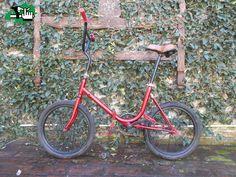 Bmx folding plegable aurorita single speed btt old vintage bike