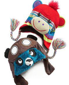 Greendog Kids Hat, Boys Lined Animal Hats - Kids - Macy's