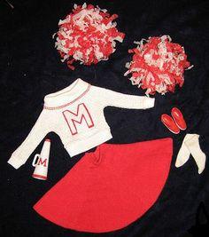 VINTAGE BARBIE CHEERLEADER #876 (1964-1965) - have Vintage outfit!