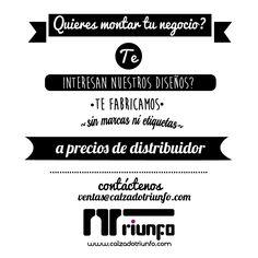 compra online y recibe en tu casa Calzadotriunfo.com
