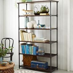 Pipe Bookcase - Wide #westelm