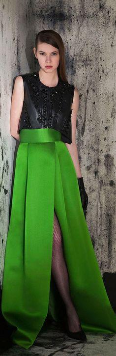 Sophisticated Style| Serafini Amelia| Basil Soda RTW F/W 2014-2015 | The House of Beccaria