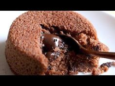 choco lava cake recipe with video and detailed step by step pics. this is an easy recipe of preparing delicious chocolate lava cake without eggs. the recipe is very simple, fuss free, easy and makes use of whole wheat flour and cocoa powder. Choco Lava Cake Recipe, Eggless Chocolate Cake, Lava Cake Recipes, Eggless Desserts, Eggless Baking, Köstliche Desserts, Dessert Recipes, Delicious Chocolate, Simple Eggless Cake Recipe