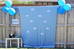 Great idea, toy story photo booth
