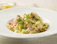 Schinkenfleckerl Rezept Cook N, Tortellini, Sweet And Salty, Pasta Salad, Risotto, Potato Salad, Yummy Food, Baking, Ethnic Recipes