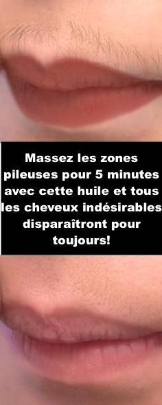 Massez les zones pileuses pour 5 minutes avec cette huile et tous les cheveux in… Massage the hairy areas for 5 minutes with this oil and any unwanted hair will disappear forever! Beauty Tips For Face, Natural Beauty Tips, Natural Skin Care, Natural Hair Styles, Beauty Guide, Beauty Secrets, Beauty Care, Diy Beauty, Beauty Skin