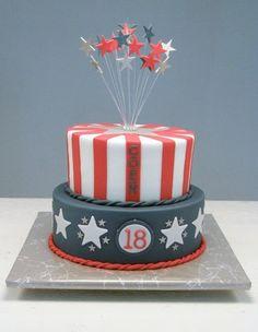 amerikaanse vlag voor op taart - Google zoeken