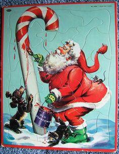 Check out Vintage Santa Claus Christmas Candy Cane Frame Tray Puzzle Whitman USA 4424 http://www.ebay.com/itm/Vintage-Santa-Claus-Christmas-Candy-Cane-Frame-Tray-Puzzle-Whitman-USA-4424-/151552601130?roken=cUgayN&soutkn=Ugi9ut via @eBay