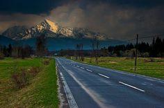 ...Kriváň...dominant peak in High Tatras, Slovakia