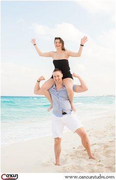 It's #Friday, time for your happy cheer!  #cancunphotographer #beachphotos #weddinginCancun #cancunstudios
