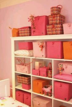 Get organize your girls room idea
