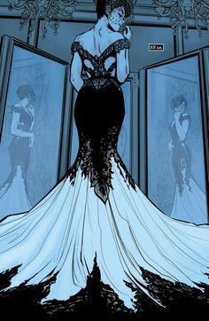 Batman (2016) issue 44 Selenas wedding dress